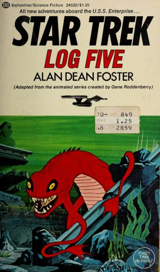 Cover of: Star Trek Log Five by Alan Dean Foster